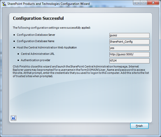 How to install Microsoft SharePoint Server 2007 on Windows 7