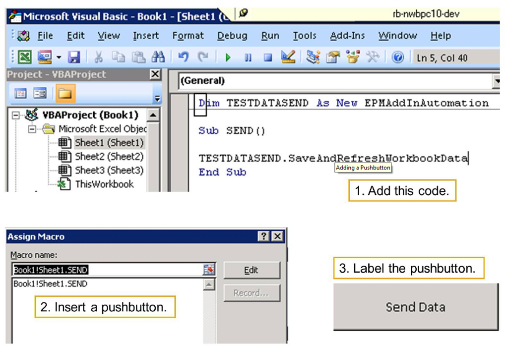 EPM – Executing VBA and API Functions with Excel Macro – Guo